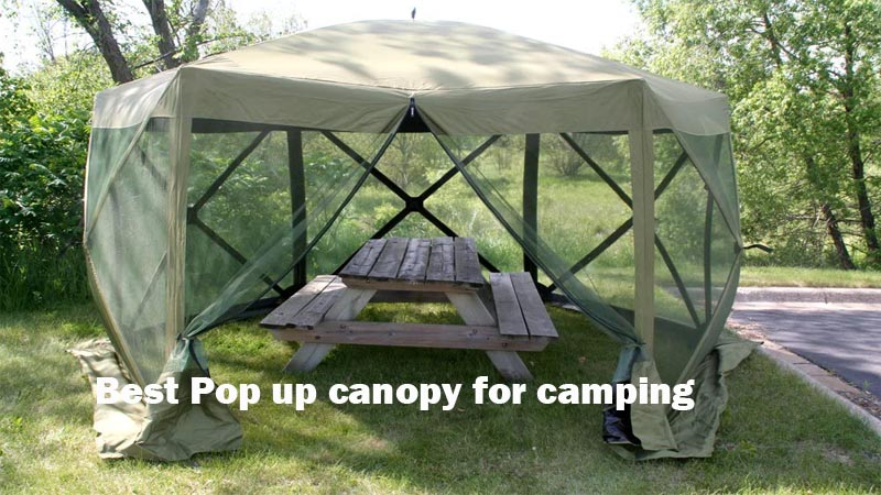 Best Pop up canopy for camping 2020