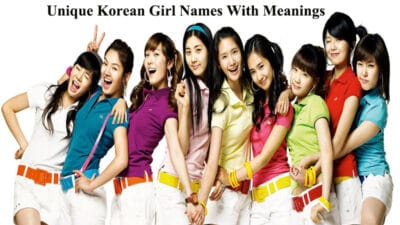 Unique Korean Girl Names With Meanings
