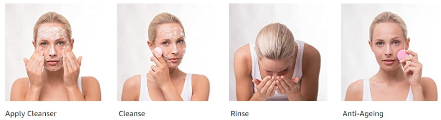 use a facial cleansing brush steps